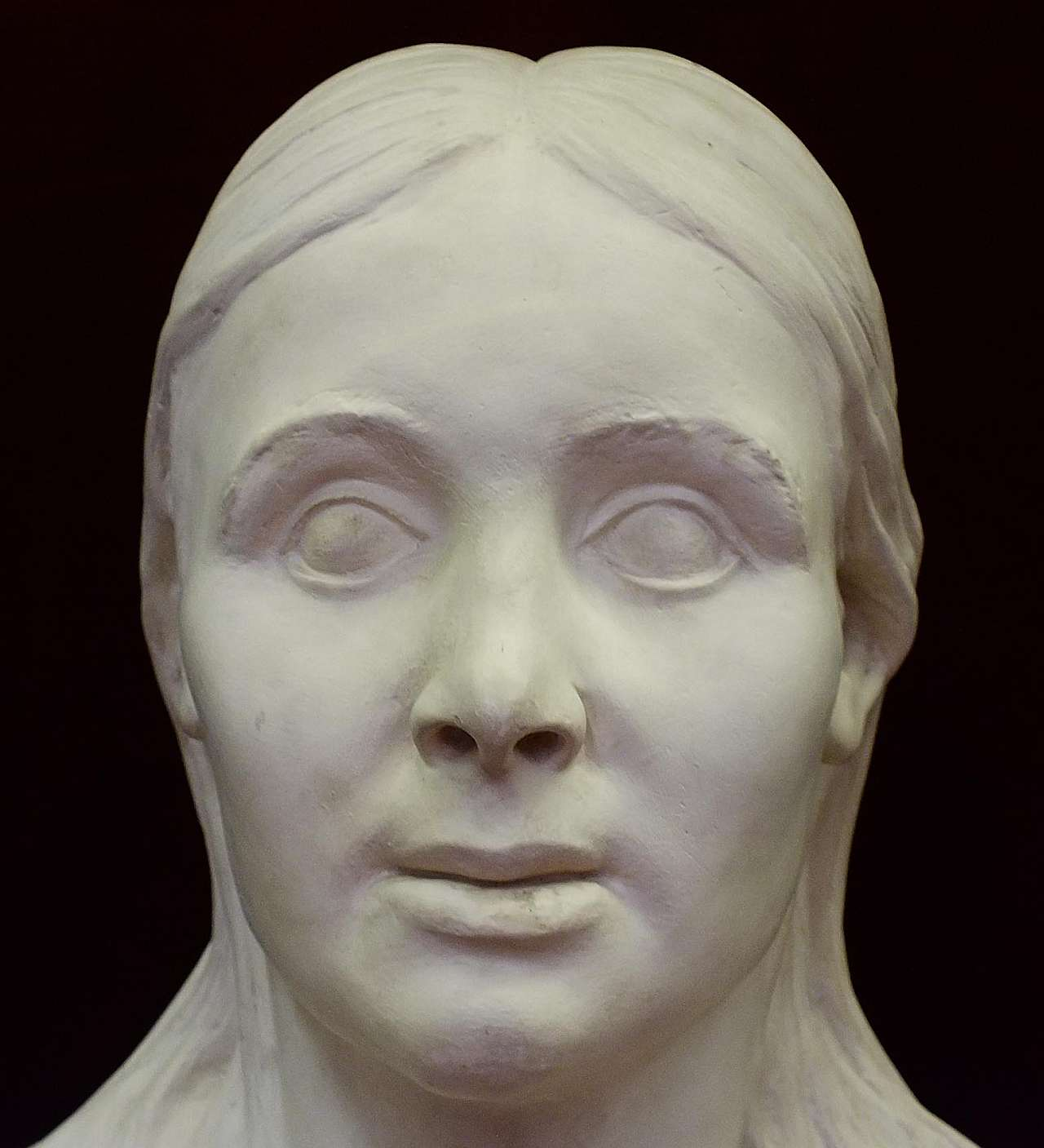 Langobard nő fejrekonstrukciója (készítette: Árpás Károly)