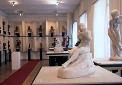 Kisfaludi Strobl Zsigmond állandó kiállítása a 2014-es felújítás előtt