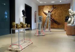 Lewis Colburn installációja a Göcseji Múzeumban