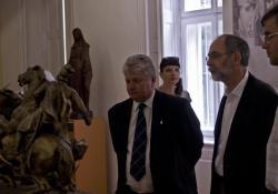 Megújult Fogadótér és Kisfaludi Strobl Zsigmond kiállítása