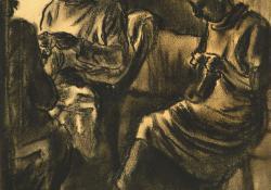 02 Anya és Teri varrnak, 1925.