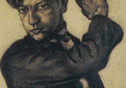 04 Önarckép, 1925.