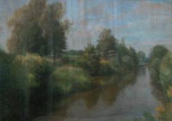 09 Zsennyei táj, papír, akvarell, 48x63 cm