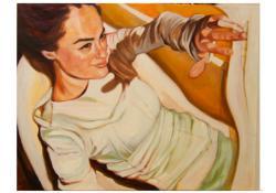 10. Csillaghasító, 2005, olaj-vászon, 70x100 cm
