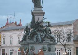 Szabadság-szobor, Arad, 1890.
