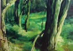6. Végtelen történet II., 2004, olaj-vászon, 110x130 cm