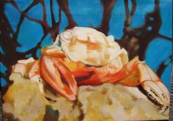 8. A rák és a kagyló, 2004, olaj-vászon