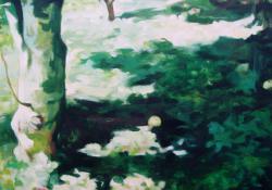 9. Kert, 2004, olaj-vászon, 130x90 cm