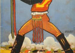 A Faluszövetség kiállításának plakátja, 1925.