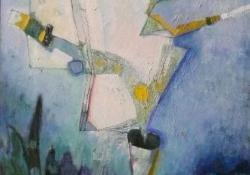 A nagy permetező, 2002, olaj, vászon, 95x54 cm