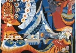 A tündér, 1983, gobelin, 160x200 cm
