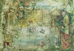 Ajándékok, 2005, olaj, vászon, 28x35,5 cm
