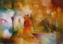 Anno Domini 1456, olaj, vászon, 60x80 cm