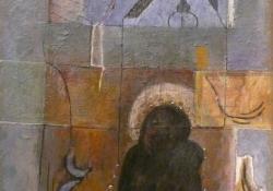 Anziksz, 1985, olaj, vászon