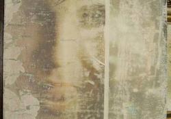 Az éjszaka képei - Város, vegyes techn. falemez, 22,5x20 cm