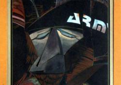 Az öreg harcos, 1984, ceruza, tempera, papír, 33x25 cm