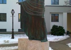 Az országépítő, 2002, Zalaegerszeg, bronz, kő