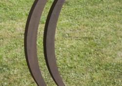 Azonosulás, 1996, acél, krómacél, 60 cm