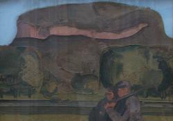 Badacsony, 1979, olaj, farost, 61x82 cm