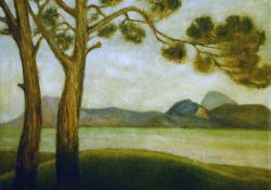 Balatoni tájkép a Szépkilátóról