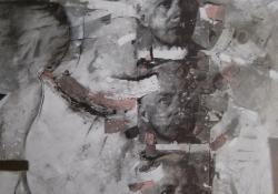 Bartók, 2008, vegyes t, vászon, 100x80 cm