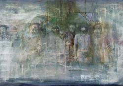 Befejezetlen történet (Ecce Homo), 2012, olaj, vászon, 70x100 cm