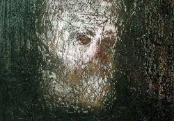 Önarckép, 2004, akril, farost, 44x38 cm