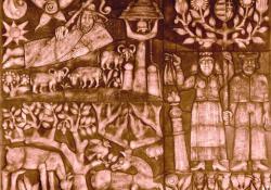 Canberra, Népművészet, 1990, agyagmázas samott