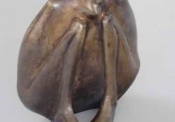 Córesz, 2002, bronz, 17 cm