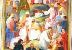 Dunakeszi, Jézus szíve oltárkép, 1961.