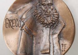 El Greco, 2004, bronz, 8 cm
