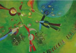 Eldorádó, o. v. 56x100 cm