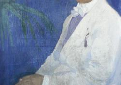 Férfiportré, 1910-1914 k, olaj, vászon