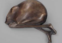 Fülöp, 2002, bronz, 7 cm