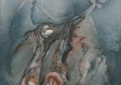 Genezis, 2002-2003, farost, vegyes t, 83x83 cm