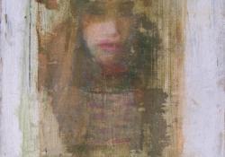 Haj-félárnyék, vegyes techn, falemez, 18x13 cm