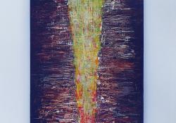 Út, 2015, akril, fa, 95 x 30 cm