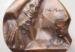 I. Vermeer, 2004, bronz, 11 cm