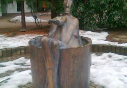 Ivókút, 1997, Zalaegerszeg, bronz