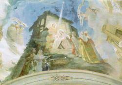 Jézus születése, Jásd, 1957, freskó