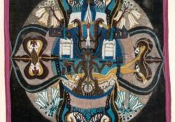 Kádár Kata balladája, 1995, nemez, 100x100 cm