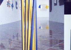 Kapu, 2005, fa, akril, 100 cm