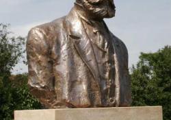Károly Gyula, Keszthely, 1995, bronz, kő