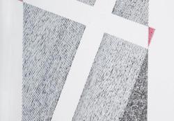 Kereszt, 2007, papír, tollrajz, 48x32 cm