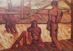 Kikötőmunkások IV. 1912.