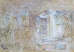 Kincskeresők, 2009, olaj, vegyes techn, falemez, 31x47 cm