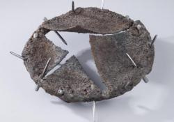 Korona 2, 1998, acél, krómacél, acélpor, 18 cm