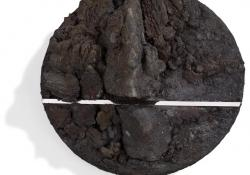 Lelet 4, 2000, acél, krómacél, acélpor, 13 cm
