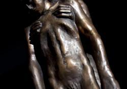 Letört ág, 1992, bronz