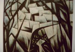 Lidércnyomás, 1921, olaj, vászon, 119,5x132 cm